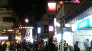 仮設の下北沢駅南口