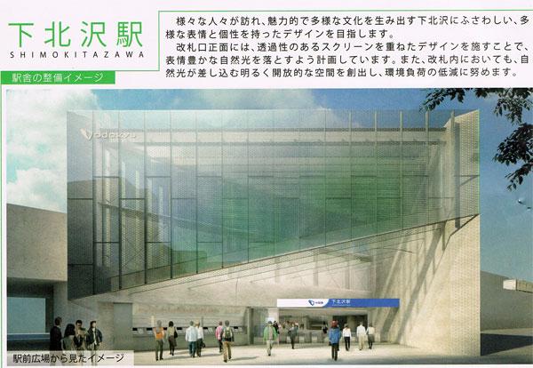 小田急線の下北沢駅ビルは「コルティ下北沢」!?