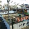 2014年1月時点の下北沢駅付近改良工事