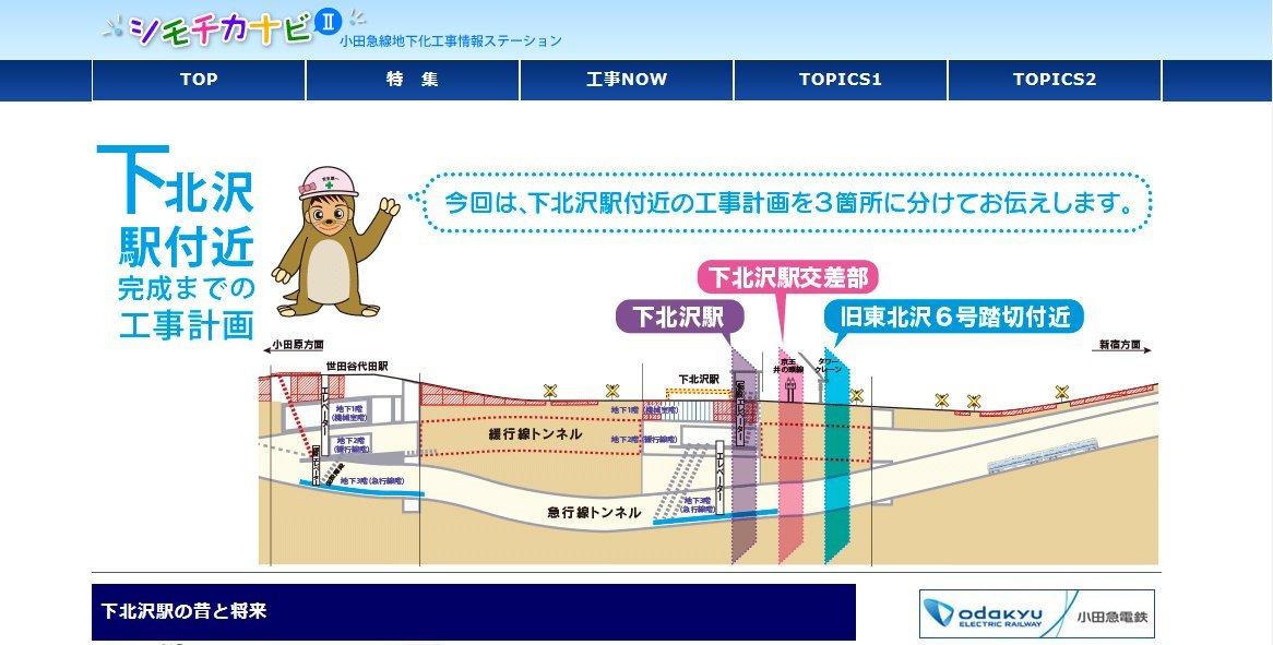 シモチカナビ更新(2014/7月→9月)
