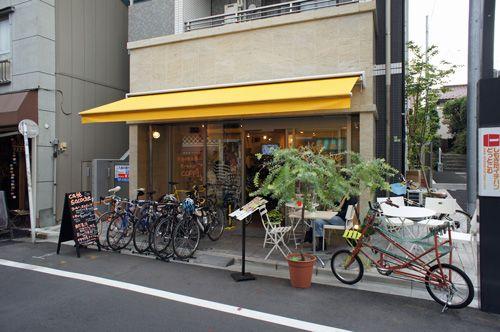 【閉店】下北沢のサイクルカフェ、「cafe sacoche(カフェ サコッシュ)」