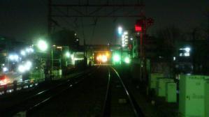 地下化前の下北沢3号踏切(鎌倉通り)