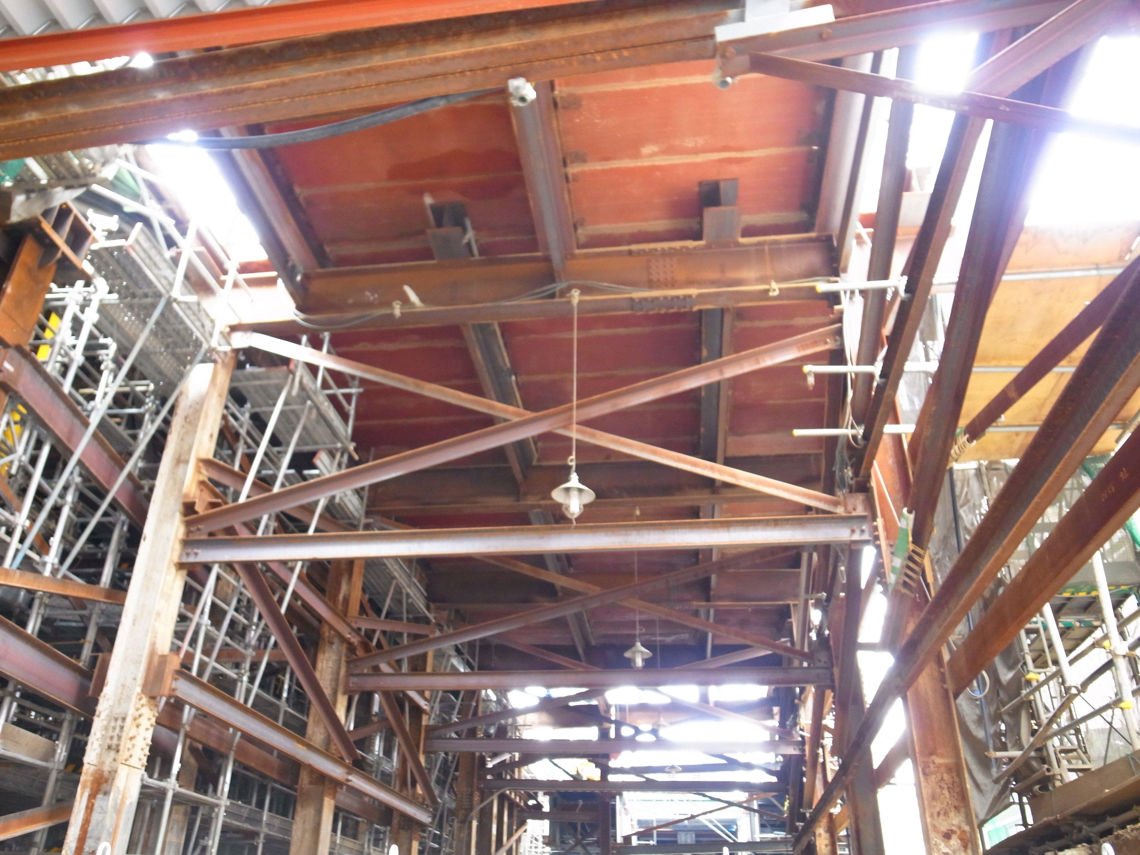 井の頭線下北沢駅周辺も密かに工事中