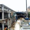 2015年5月中旬現在の下北沢駅(下北沢コルティ(仮称))工事状況