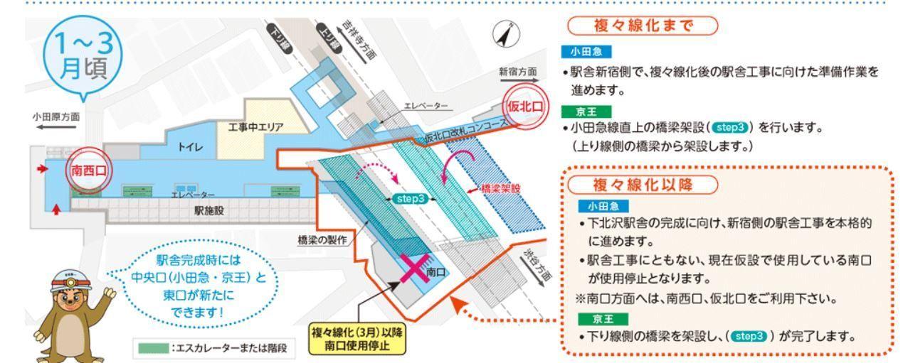 「下北沢駅 トイレ 京王」の画像検索結果