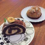 太子堂の「プレジール(Plaisir)」のケーキ&シュークリーム