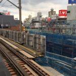 京王・井の頭線 下北沢駅工事状況(2017年8月)