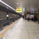 複々線完成後の世田谷代田駅ホーム