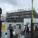 小田急線・下北沢駅ビルの外観の様子(2018年9月末時点)
