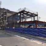 世田谷代田駅前に新たな商業施設が建設中