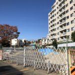 2019年11月時点の「都市計画道路補助26号線」(三宿二丁目~池尻四丁目)