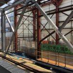 井の頭線下北沢駅の謎な構造物