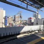 2019年2月の井の頭線下北沢駅から撮影