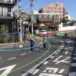 「SHIMOKITA COLLEGE」前の交差点が危ない