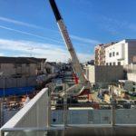 小田急線下北沢駅南西口の駅ビル工事が始まっていますね