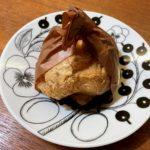 世田谷区桜丘の洋菓子屋さん「VOILA」のボリュームたっぷりのシュークリーム