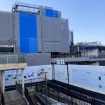 小田急線下北沢駅南西口の駅ビル工事状況(2021年5月上旬)と、ビルの詳細が判明