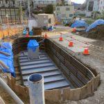 下北線路街の鎌倉通り沿いの緑地・小広場の整備状況